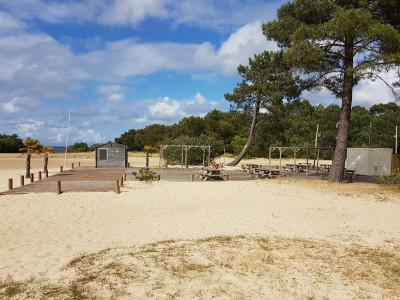 Réserver vacances camping Gastes proche plage